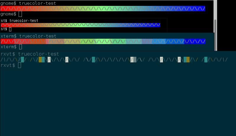 A look at terminal emulators, part 1 - anarcat